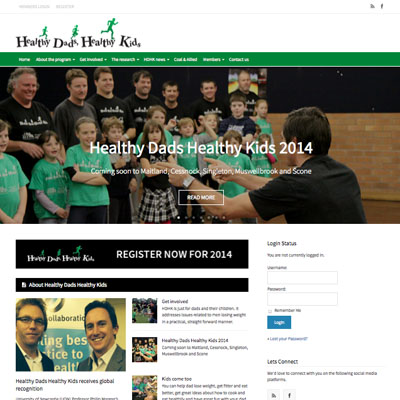 Healthy Dads Healthy Kids - Newcastle University