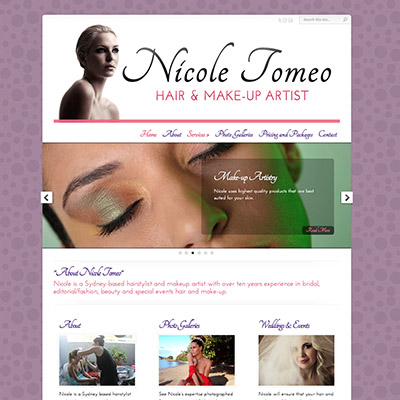Nicole Tomeo Hair and Make Up